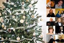 Lidé kolem hudby a okolo Vánoc