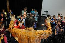 Vesmírná odysea jako dětská opera v Kabinetu múz