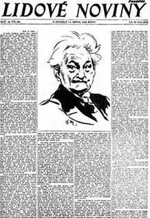 Leoš Janáček, Lidové noviny a liška Bystrouška