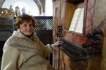 Varhany jezuitského kostela zněly k jubileu Aleny Veselé