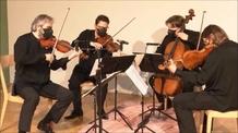 Oslavte Beethovenovo výročí online s Graffovým kvartetem