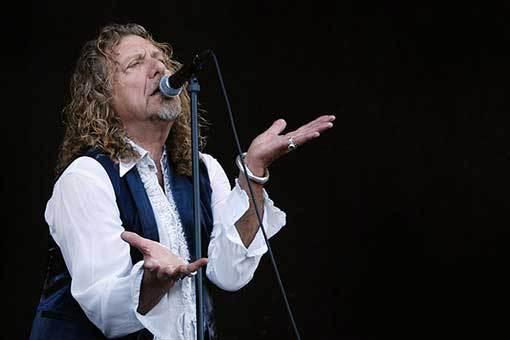Robert Plant. Legenda hard rocku poprvé v Brně