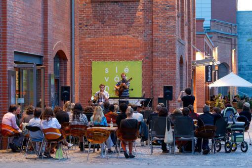 Festival ve středu: hudební večery pod širým nebem
