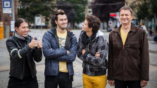 Skupina Megafon pokřtí nové album Mluv se mnou