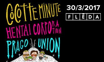 Soutěž o vstupenky - Cocotte Minute/ Hentai Corporation/ Prague Union