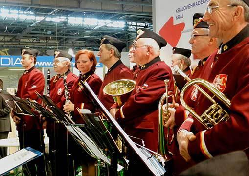 Veletrh Regiontour: hudba propagující i propagovaná