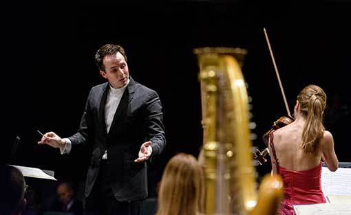 Scaglione a Filharmonie Brno. Kvalitní dirigentské vedení nenechalo nic náhodě