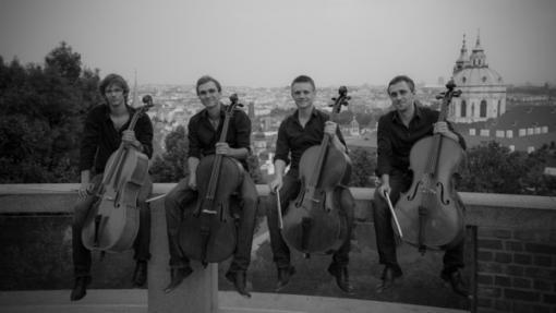 Prague Cello Quartet: Benefiční koncert na podporu nových varhan