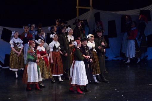 Vojenský umělecký soubor Ondráš hledá nového houslistu a tanečníky