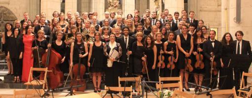 Benefiční koncert Evropského orchestru a sboru studentů medicíny