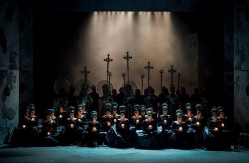 Ponchielliho Gioconda je neokoukaný operní thriller