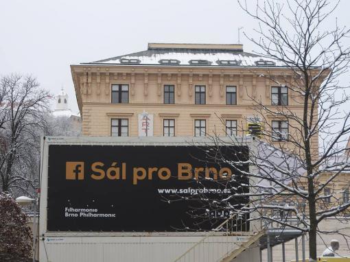 Do základů Sálu pro Brno bude uložena pamětní schránka