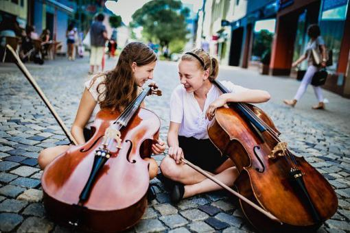 Magdalena Kožená a stovky dětí rozezpívají Moravské náměstí vrámci happeningu ZUŠ Open 2017