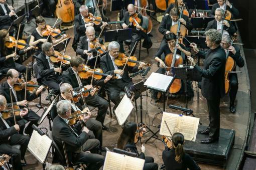 Filharmonie Brno při startu nové řady na Stadionu