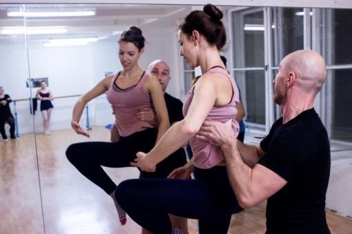 Workshop moderního baletu: Tanec s partnerem