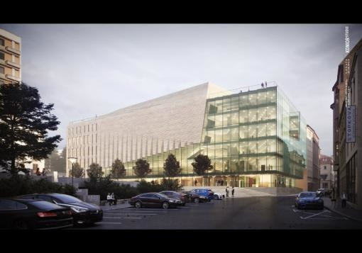 Projekční tým právě představil vizualizace návrhu Janáčkova kulturního centra