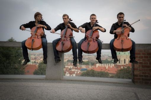 Prague Cello Quartet míří do Brna