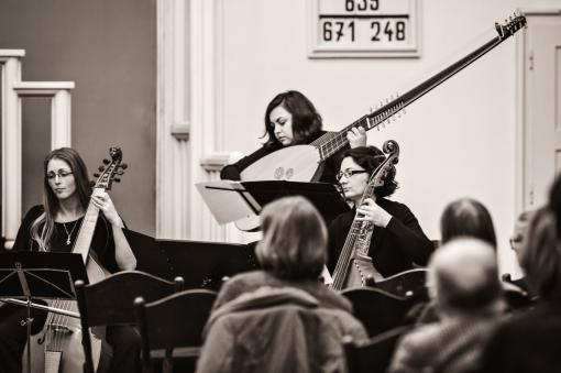 Rozjímání s Ensemble Versus a Castello in Aria