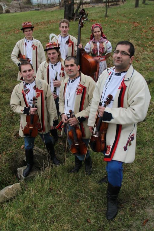 Folklor a city: Horňácká cimbálová muzika Kubíci