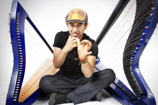 Edmar Castañeda: Narodil jsem se pro harfu
