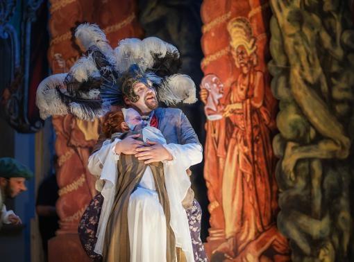 Manýry bohů i pozemšťanů na Olomouckých barokních slavnostech