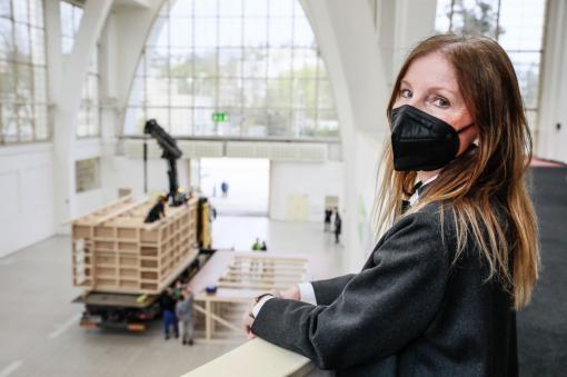 Aktuálně: Do Brna dnes přijel akustický model sálu Janáčkova kulturního centra