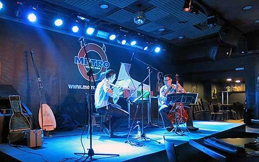 Barokní improvizace v Metro Music Baru