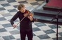 Houslová modlitba na Velikonočním festivalu duchovní hudby